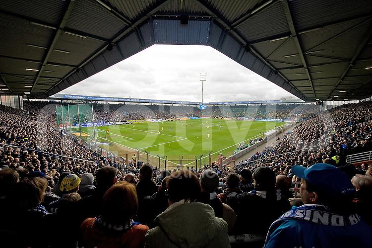 Fussball Bundesliga Saison 2009/2010 VFL Bochum - Borussia Dortmund Das Rewirpower Stadion in Bochum.