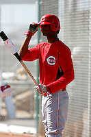 Juan Duran - Cincinnati Reds 2009 Instructional League. .Photo by:  Bill Mitchell/Four Seam Images..