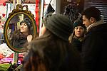 © Joel Goodman - 07973 332324 . 21 November 2013 . Manchester , UK . Candid photos of the Christmas Markets in Manchester City Centre . Photo credit : Joel Goodman