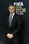 Jose Mourinho (POR) auf dem roten Teppich (Andreas Meier/EQ Images)