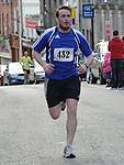 Paul Hackett taking part n the Saint Vincent de Paul 5Km run. Photo: Colin Bell/pressphotos.ie