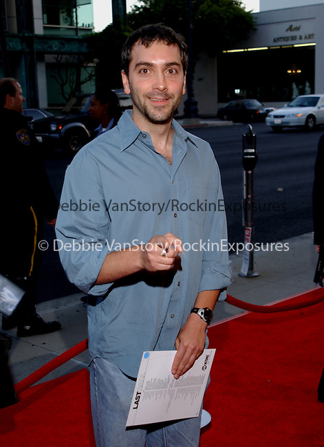 Scott Lowell arrives at The World Premiere Screening of Last Call held at the Samuel Goldwyn Theater in Beverly Hills,Ca. May 22,2002.Photo by Hollywood Press Agency