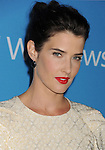 WEST HOLLYWOOD, CA - SEPTEMBER 18: Cobie Smulders arrives at the CBS 2012 fall premiere party at Greystone Manor Supperclub on September 18, 2012 in West Hollywood, California.