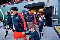 Portland, OR - Saturday May 06, 2017: Adrianna Franch prior to a regular season National Women's Soccer League (NWSL) match between the Portland Thorns FC and the Chicago Red Stars at Providence Park.