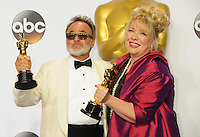 28 February 2016 - Hollywood, California - Colin Gibson, Lisa Thompson. 88th Annual Academy Awards presented by the Academy of Motion Picture Arts and Sciences held at Hollywood & Highland Center. Photo Credit: Byron Purvis/AdMedia