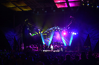 The Dead performing in concert at the Tweeter Center, Mansfield MA 22 June 2003. Lighting and Set Design Image Capture. Photography Credit: James R Anderson