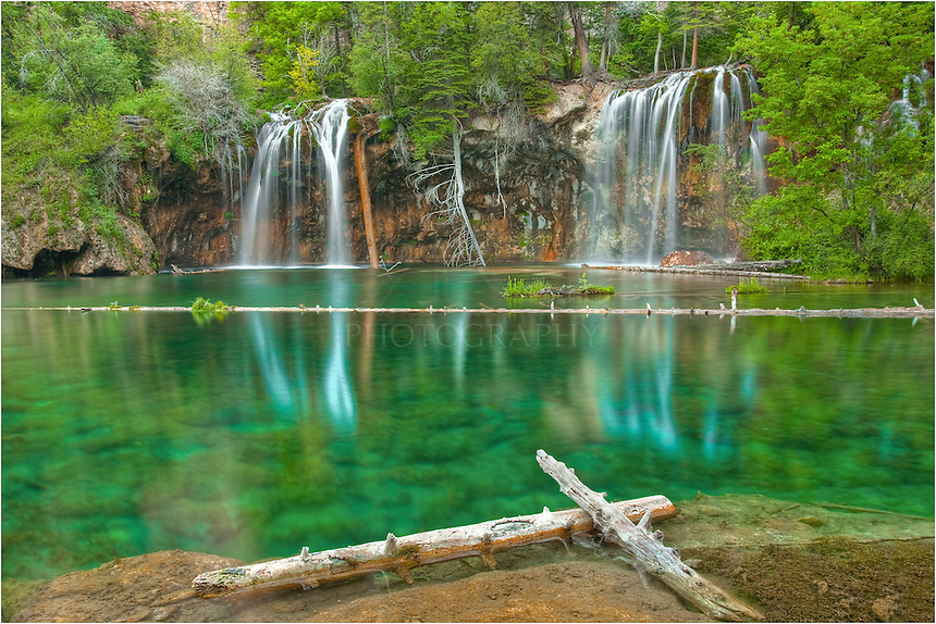 Colorado pictures hanging lake near glenwood springs for Fishing lakes in colorado springs