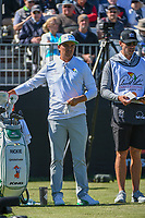 Rickie Fowler (USA) prepares to tee off on 1 during round 1 of the Arnold Palmer Invitational at Bay Hill Golf Club, Bay Hill, Florida. 3/7/2019.<br /> Picture: Golffile | Ken Murray<br /> <br /> <br /> All photo usage must carry mandatory copyright credit (&copy; Golffile | Ken Murray)