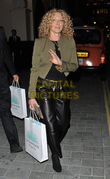 Kelly Hoppen attends the Cindy Crawford &quot;Becoming&quot; book &amp; Casamigos Tequila launch party, The Beaumont, Balderton Street, London, England, UK, on Thursday 01 October 2015. <br /> CAP/CAN<br /> &copy;Can Nguyen/Capital Pictures
