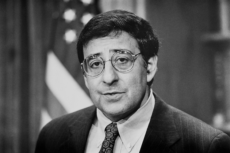 Rep. Leon Panetta, D-Calif., on Jan. 20, 1992. (Photo by Laura Patterson/CQ Roll Call)