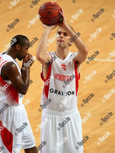 2010-10-05 / Basketbal / seizoen 2010-2011 / Euro Challenge / Antwerp Giants - Minsk / Jef Van der Jonckheyd..Foto: Mpics