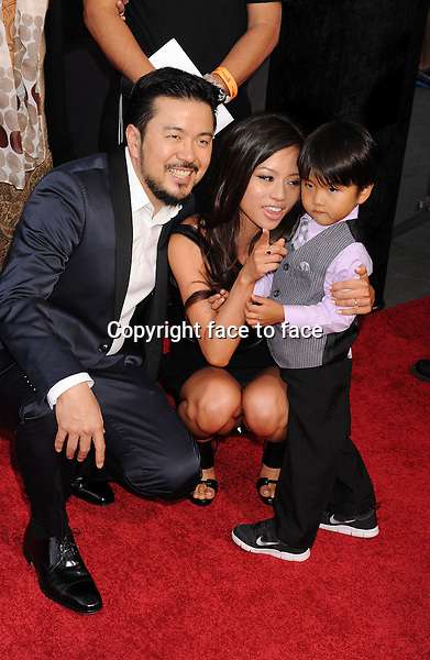 UNIVERSAL CITY, CA- MAY 21: Director/Executive Producer Justin Lin and family arrive at the 'Fast & The Furious 6' - Los Angeles Premiere at Gibson Amphitheatre on May 21, 2013 in Universal City, California...Credit: Mayer/face to face..- No Rights for USA, Canada and France -