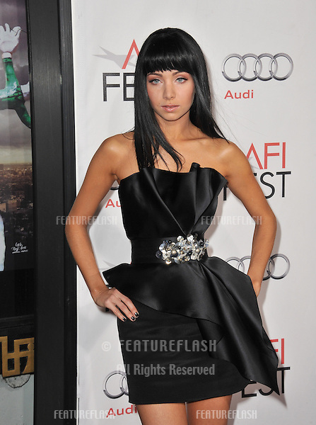 """Ksenia Solo at the Los Angeles premiere of her new movie """"Black Swan"""", the closing film of the 2010 AFI Fest, at Grauman's Chinese Theatre, Hollywood..November 11, 2010  Los Angeles, CA.Picture: Paul Smith / Featureflash"""