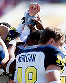 The University of Michigan football team lost to South Carolina, 33-28, in the Outback Bowl at Raymond James Stadium in Tampa, Fla., on January 1, 2013.