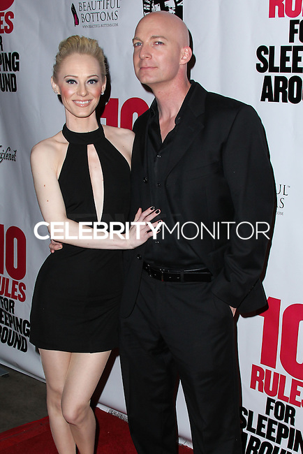 """HOLLYWOOD, LOS ANGELES, CA, USA - APRIL 01: Brooklynne James, Bill Millsap at the Los Angeles Premiere Of Screen Media Films' """"10 Rules For Sleeping Around"""" held at the Egyptian Theatre on April 1, 2014 in Hollywood, Los Angeles, California, United States. (Photo by Xavier Collin/Celebrity Monitor)"""