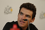 Olympic Champion Greg Van Avermaet (BEL) BMC Racing Team press conference before the 104th edition of the Tour de France 2017, Dusseldorf, Germany. 29th June 2017.<br /> Picture: Eoin Clarke | Cyclefile<br /> <br /> All photos usage must carry mandatory copyright credit (&copy; Cyclefile | Eoin Clarke)