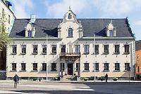 Residenzhaus auf dem Stortorget in Malmö, Provinz Skåne (Schonen), Schweden, Europa<br /> residence on Stortorget in Malmö, Sweden