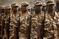 "Ghanaians military parade within the official celebrations of  the 50th anniversary of their countries' independence in ""independence square"" in Accra, Ghana on tuesday March 06 2007.."