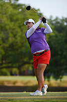 Shanshan Feng (CHN) watches her tee shot on 2 during round 1 of the 2019 US Women's Open, Charleston Country Club, Charleston, South Carolina,  USA. 5/30/2019.<br /> Picture: Golffile | Ken Murray<br /> <br /> All photo usage must carry mandatory copyright credit (© Golffile | Ken Murray)
