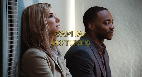 (L-r) SANDRA BULLOCK as Jane and ANTHONY MACKIE as Ben in Warner Bros. Pictures and Participant Media's satirical comedy &quot;OUR BRAND IS CRISIS,&quot; a Warner Bros. Pictures release.<br /> *Filmstill - Editorial Use Only*<br /> CAP/KFS<br /> Image supplied by Capital Pictures