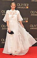 Laura Pradelska at the Olivier Awards 2018, Royal Albert Hall, Kensington Gore, London, England, UK, on Sunday 08 April 2018.<br /> CAP/CAN<br /> &copy;CAN/Capital Pictures<br /> CAP/CAN<br /> &copy;CAN/Capital Pictures
