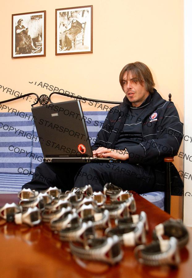 Fudbal,.Pripreme FK Crvena Zvezda, Cyprus.Aleksandar Kristic.Agia Napa, 01.17.2009.foto: Srdjan Stevanovic/Starsportphoto.com ©