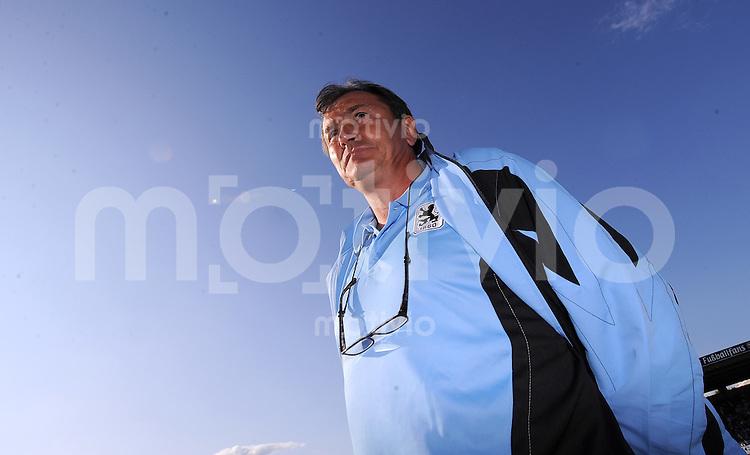 FUSSBALL     2. BUNDESLIGA     SAISON 2009/2010     25.07.2009 Testspiel TSV 1860 Muenchen - RCD Mallorca  Trainer Ewald Lienen  ( 1860 Muenchen)