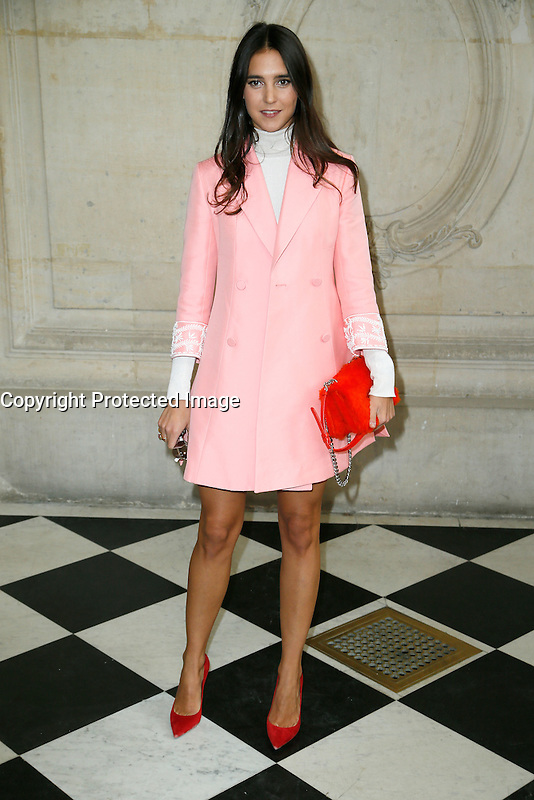 Paris, France September 27 : Viola Arrivabene attends the Christian Dior Ready To Wear Spring/Summer 2017 show as part of Paris Fashion Week on September 27; 2016 in Paris, France. # FASHION WEEK - PEOPLE AU DEFILE DIOR.