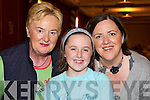 Enjoying the opening night of Le Grande Cirque in the INEC on Tuesday night were Breda, Caoimhe and Siobhan Lynch, Killarney.   Copyright Kerry's Eye 2008
