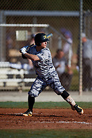 Regan Reid during the WWBA World Championship at the Roger Dean Complex on October 21, 2018 in Jupiter, Florida.  Regan Reid is a shortstop from Anderson, South Carolina who attends T.L. Hanna High School and is committed to Clemson.  (Mike Janes/Four Seam Images)