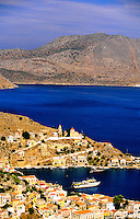 Island of Symi, Dodecanese, Greece