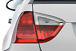 Tail light close up detail view of a 2005 - 2008 BMW 3-Series 328i Wagon.