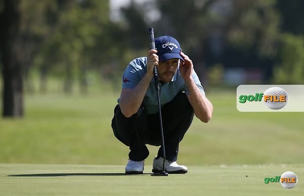 Stuart Manley (WAL) during Round One of the 2016 Tshwane Open, played at the Pretoria Country Club, Waterkloof, Pretoria, South Africa.  11/02/2016. Picture: Golffile | David Lloyd<br /> <br /> All photos usage must carry mandatory copyright credit (&copy; Golffile | David Lloyd)
