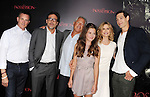 HOLLYWOOD, CA - AUGUST 28: Jeffrey Dean Morgan, Natasha Calis, Kyra Sedgwick and Matisyahu arrive at the 'The Possession' - Los Angeles Premiere at ArcLight Cinemas on August 28, 2012 in Hollywood, California.