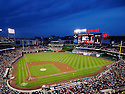 An overall view of Nationals Park in Washington, DC, during a game between the Washington Nationals and the San Francisco Giants on May 5, 2011. (AP Photo/Chris Bernacchi)