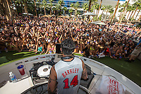 LAS VEGAS, NV - October 7:  DJ Pauly D performs at REHAB pool party at Hard Rock Hotel & Casino on October 7, 2012 in Las Vegas, Nevada. © Kabik/ Starlitepics