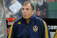 Los Angeles Galaxy Head Coach Bruce Arena. DC United tied with Los Angeles Galaxy 0-0 at RFK Stadium, Saturday August 22, 2009.