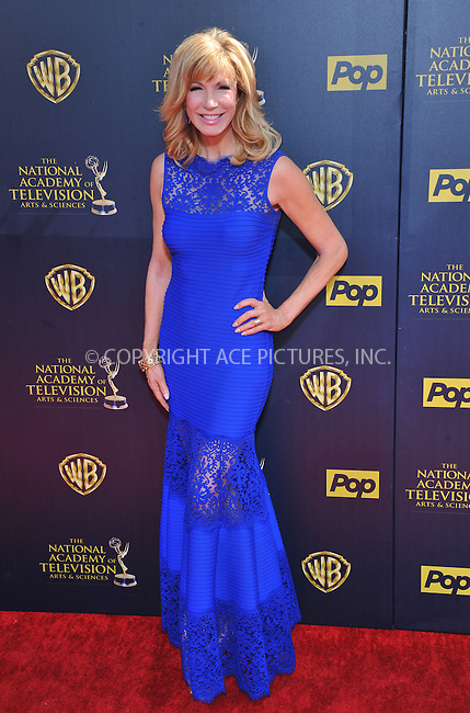 WWW.ACEPIXS.COM<br /> <br /> April 26 2015, LA<br /> <br /> Leeza Gibbons arriving at The 42nd Annual Daytime Emmy Awards at Warner Bros. Studios on April 26, 2015 in Burbank, California.<br /> <br /> By Line: Peter West/ACE Pictures<br /> <br /> <br /> ACE Pictures, Inc.<br /> tel: 646 769 0430<br /> Email: info@acepixs.com<br /> www.acepixs.com