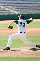 Josh Slaats, Hawaii Rainbows, playing against Louisana Tech Bulldogs on day one of the Western Athletic Conference tournament at Hohokam Park, Mesa, AZ - 05/26/2010. Hawaii defeated Louisiana Tech, 8-7, in 10 innings..Photo by:  Bill Mitchell/Four Seam Images.