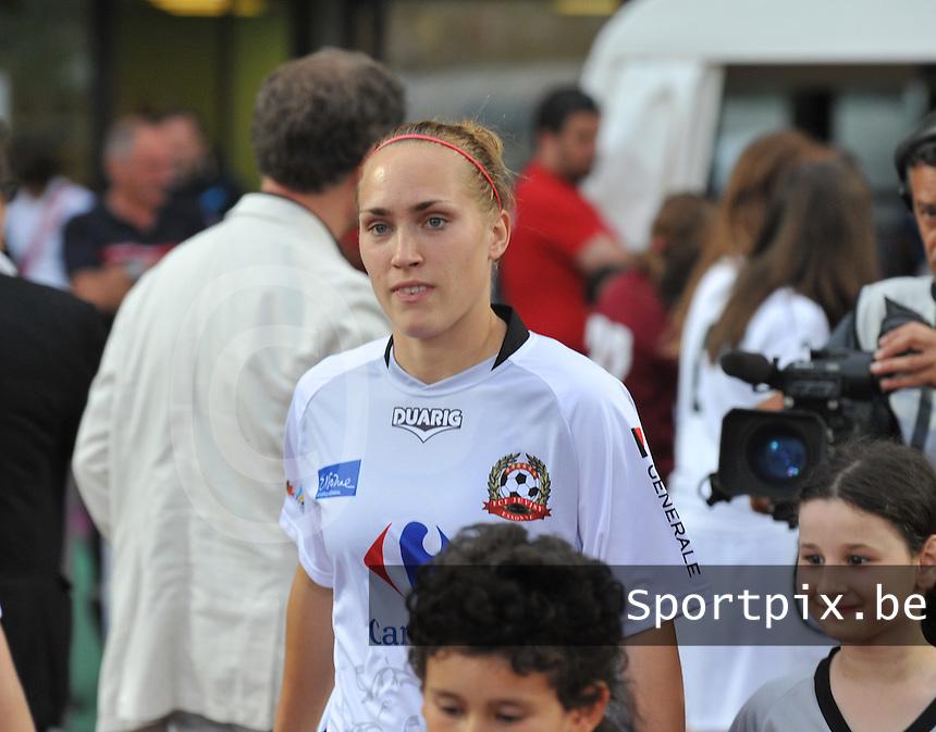 Football Club Feminin Juvisy Essonne - Olympique Lyon :.Janice Cayman.foto DAVID CATRY / JOKE VUYLSTEKE / Vrouwenteam.be