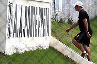 CAMPINAS, SP, 19.01.2018: PONTE PRETA-Eduardo Baptista. A equipe da Ponte Preta realizou treino na tarde desta sexta-feira (19) no CT do jd Eulina, na cidade de Campinas (SP). (Foto: Denny Cesare/Codigo19)