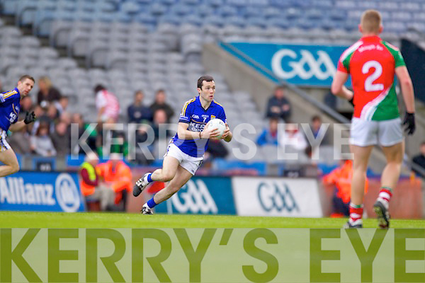 Brian Maguire Kerry in action against   Mayo in the National Football League Semi Final at Croke Park on Sunday.