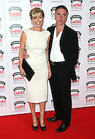 Emma Thompson, Greg Wise at The Jameson Empire Film Awards 2014 - Arrivals, London. 30/03/2014 Picture by: Henry Harris / Featureflash