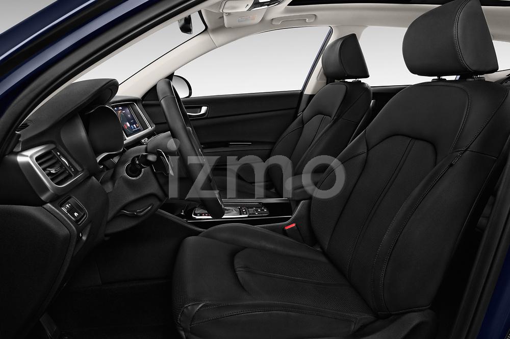Front seat view of 2017 KIA Optima-Sportswagon Fusion 5 Door Wagon Front Seat  car photos