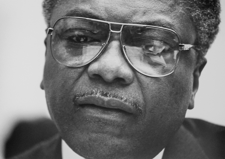 Rep. Jim Clyburn, D-S.C. in Feb., 1993. (Photo by Maureen Keating/CQ Roll Call)