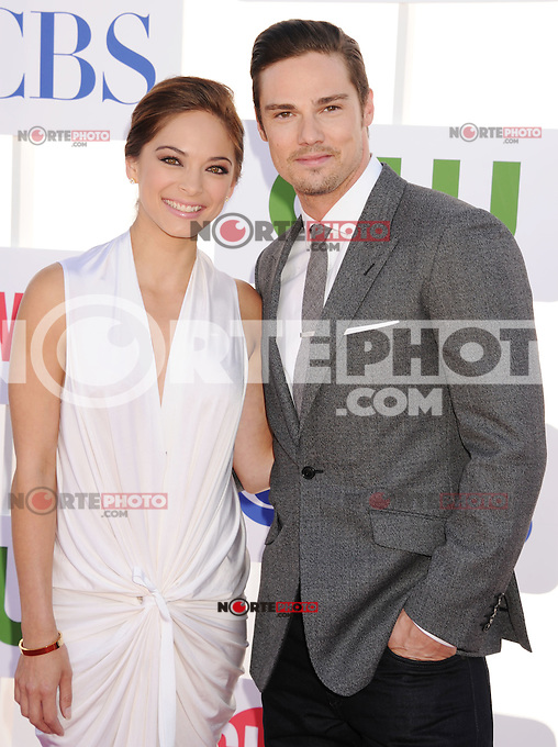 BEVERLY HILLS, CA - JULY 29: Kristin Kreuk and Jay Ryan arrive at the CBS, Showtime and The CW 2012 TCA summer tour party at 9900 Wilshire Blvd on July 29, 2012 in Beverly Hills, California. /NortePhoto.com<br /> <br />  **CREDITO*OBLIGATORIO** *No*Venta*A*Terceros*<br /> *No*Sale*So*third* ***No*Se*Permite*Hacer Archivo***No*Sale*So*third*