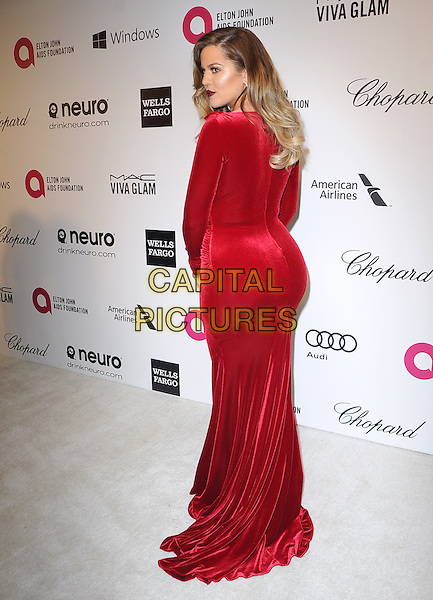 Khloe Kardashian attends the 2014 Elton John AIDS Foundation Academy Awards Viewing Party in West Hollyood, California on March 02,2014                                                                               <br /> CAP/DVS<br /> &copy;DVS/Capital Pictures