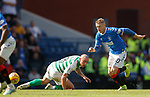 01.09.2019 Rangers v Celtic: Steven Davis and Scott Brown