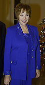 Shirley McLean arrives at the White House December 20, 2000 in Washington DC. Stuart was attending a dinner hosted by United States President Bill Clinton for the National Medal of Arts awardees..Credit: Mark Wilson / Pool via CNP