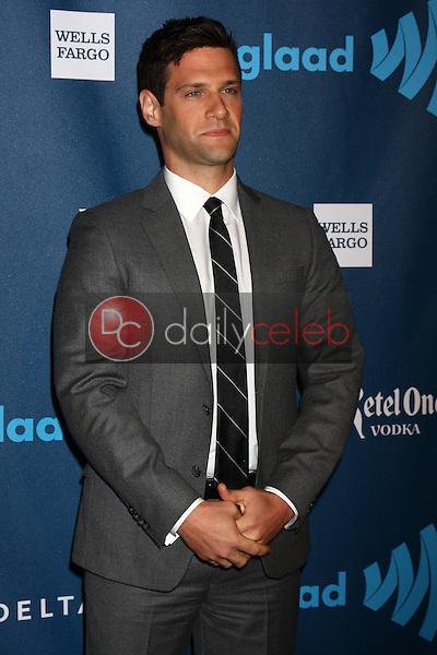 Justin Bartha<br /> at the 24th Annual GLAAD Media Awards, JW Marriott, Los Angeles, CA 04-20-13<br /> David Edwards/DailyCeleb.Com 818-249-4998